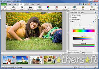 PhotoPad Free Photo Editing Software
