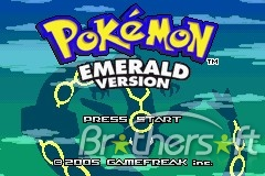 Pokemon - Emerald Version for GBA