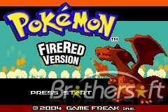 Pokemon - Fire Red Version for GBA