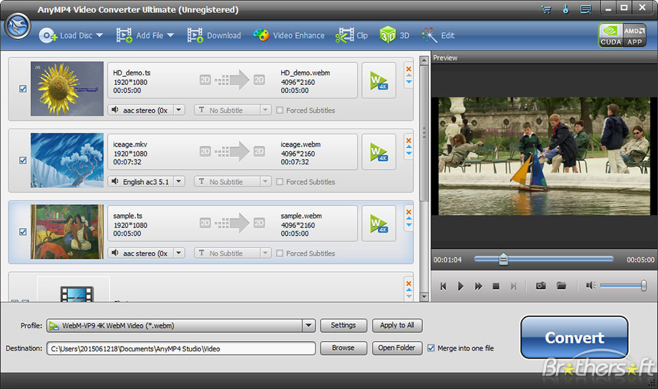 AnyMP4 Video Converter Ultimate 6.1.98